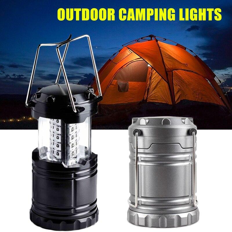 Luz de Camping 30LED linterna Camping telescópica al aire libre lámpara Super...