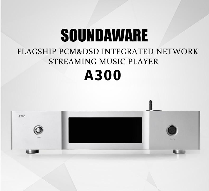 Soundaware-مشغل موسيقى A300 مدمج ، PCM و DSD ، متدفق الشبكة ، Hifi ، مضخم سماعة الرأس