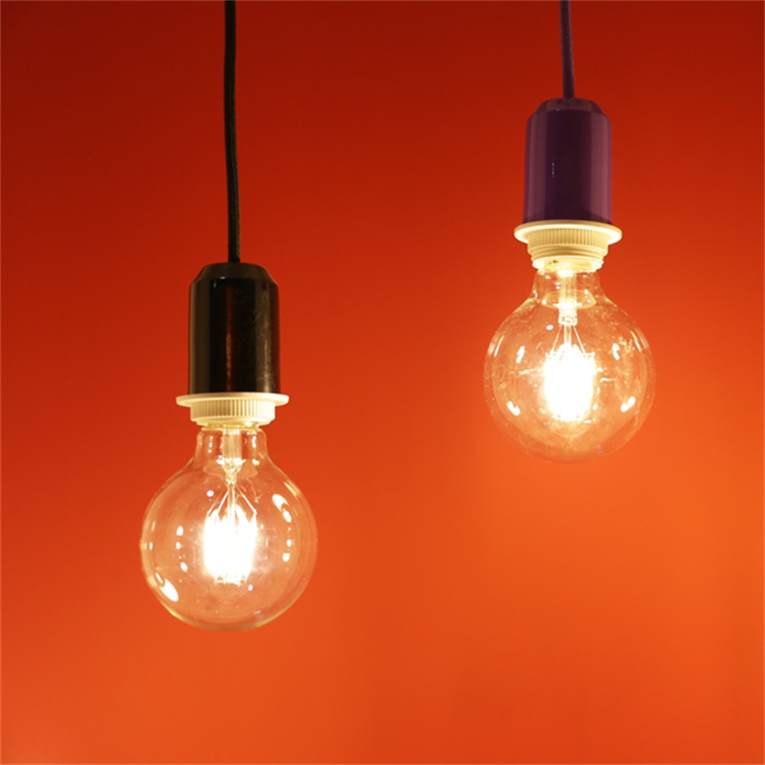 Free Shipping Filament G125 Dome 6W Dim Amber 2200K 630Lm Wattage: 6W Equivalent: 60W enlarge