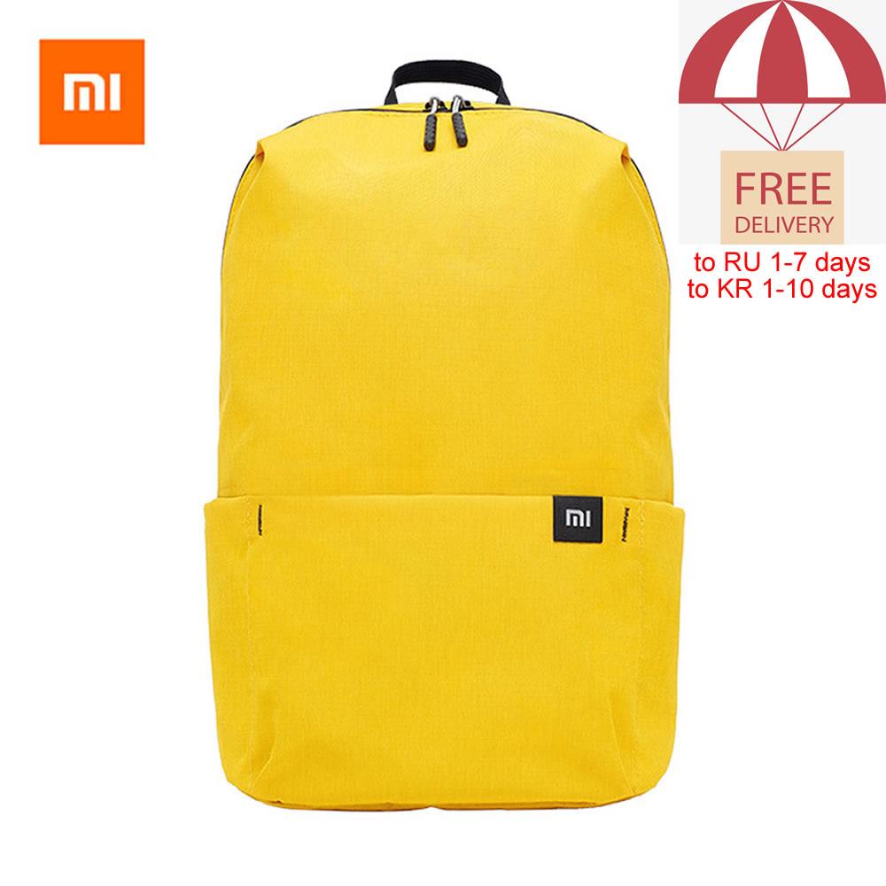 Original Xiaomi Mi Backpack 7L/10L/15L/20L Waterproof Colorful Daily Leisure Urban Uni Sports Travel Backpack Dropshipping