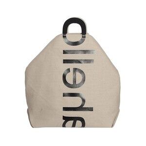 Fashion Women Tote Handbags Simple Stylish Eco Friendly Canvas Shoulder Purses Large Capacity Casual Work Crossbody Bag