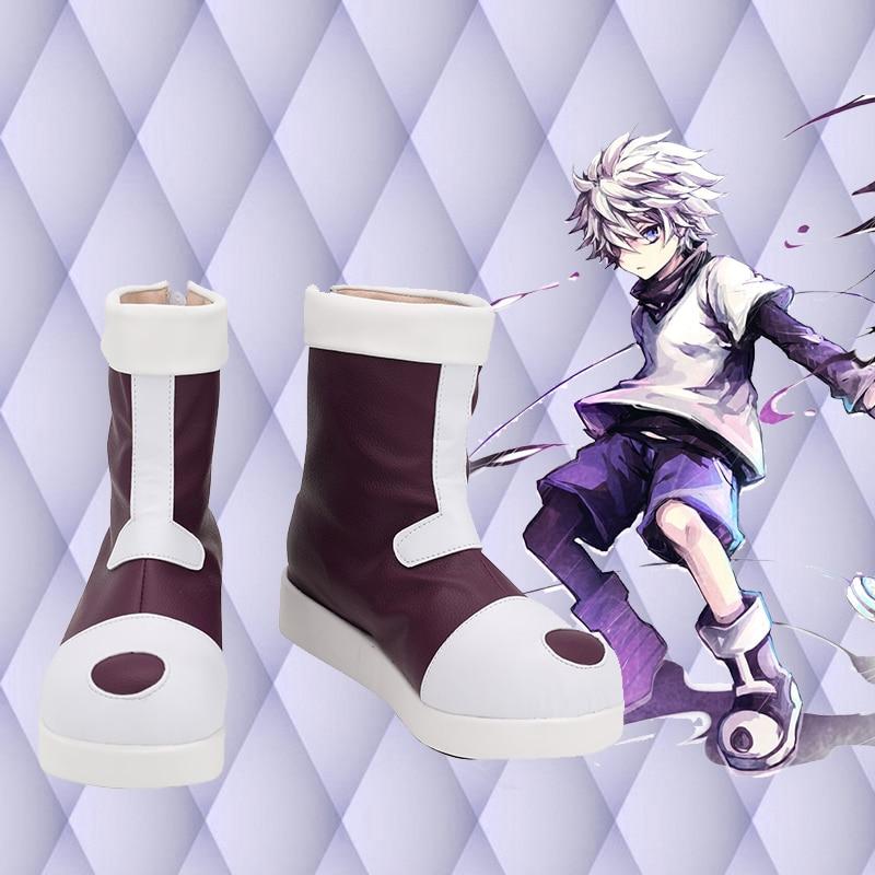 للجنسين أنيمي كوس كيلوا Zoldyck تأثيري ازياء أحذية مخصصة