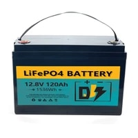 deep cycle 12v 100ah great power battery lifepo4 battery accessories pack for solar rv boat golf cart