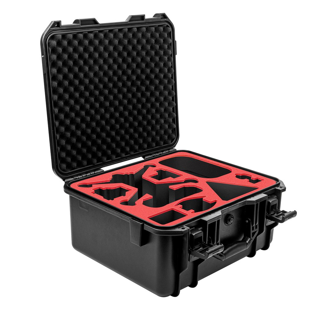 For DJI FPV Traversing Machine Accommodating Wterproof  Explosion-proof Safety Box Portable Suitcase FPV Drone Accesorprotection