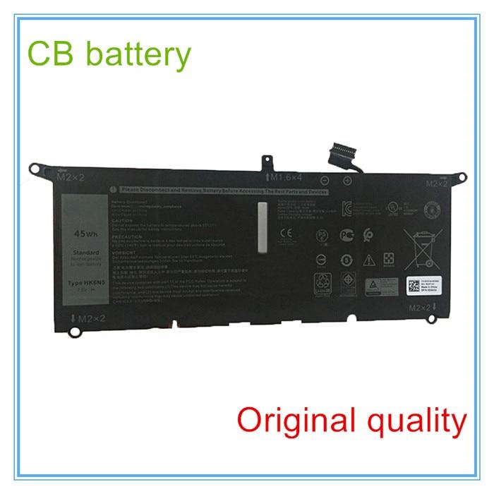 OHK6N5-batería para portátil, negro, serie HK6N5, 7,6 V, 45Wh