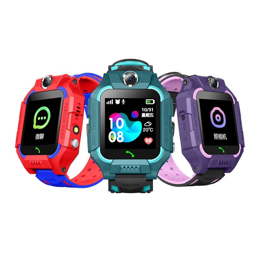 Q50 Z26 Children's Smart Watch SOS Phone Watch Smartwatch For Kids Electronics Sport Watch Photo Waterproof IP67 Kids Gift