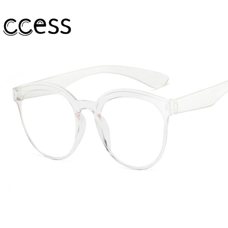 Clear Lens Sunglasses Women Brand Designer Red Black Round Sun Glasses Simple Girls Goggles Ladies S