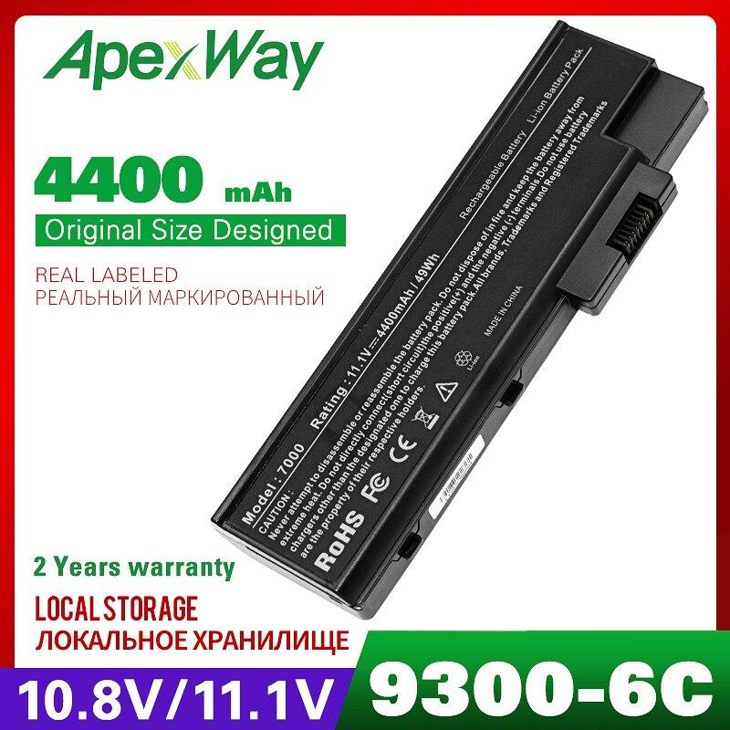 4400mAh 6cells battery for ACER Aspire 3660 5600 5620 7000 7100 7110 9300 9400 9410 9410Z 9420 TravelMate 2460 4220 4270 4670