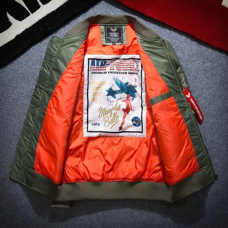2020 primavera bombardeiro jaqueta feminina outwear eua vôo piloto jaquetas casaco feminino colégio outerwear casacos militares