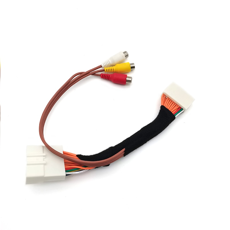 28 Pin Auto AV Video Audio Kabel Für Toyota Lexus Tacoma Tundra Touch 2 Entune Monitore Kopf Einheiten