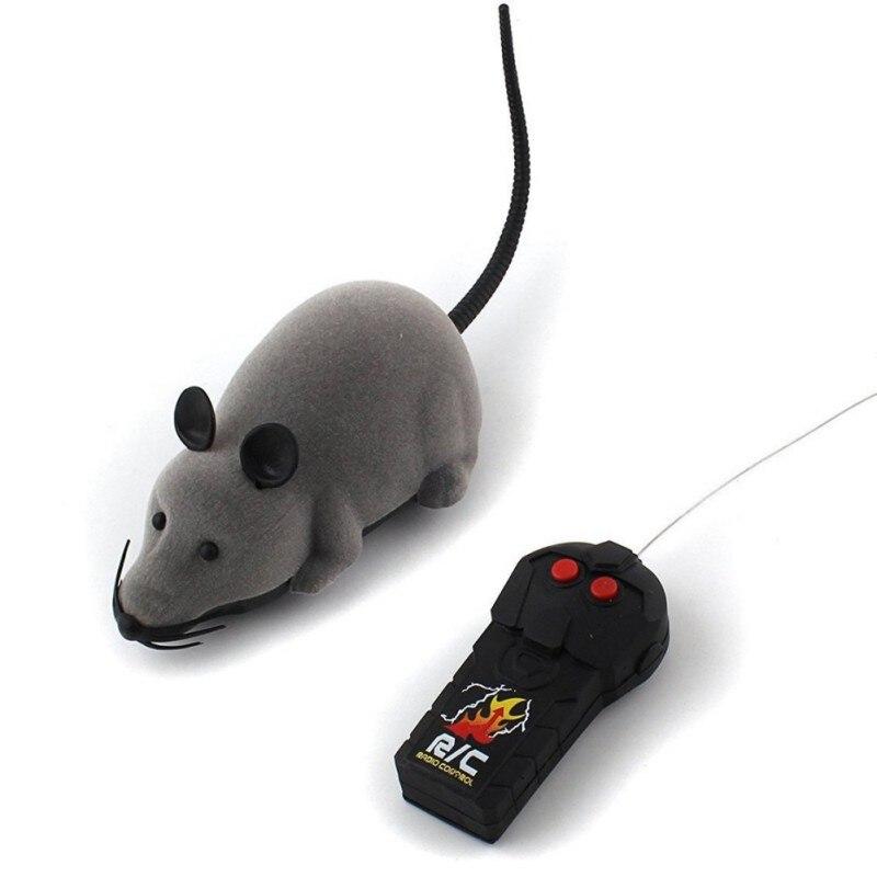 Brinquedo do gato Brinquedo Camundongos Mouse Sem Fio Controle Remoto RC Eletrônico Animais de Estimação Brinquedo Do Gato Do Rato Para as crianças brinquedos