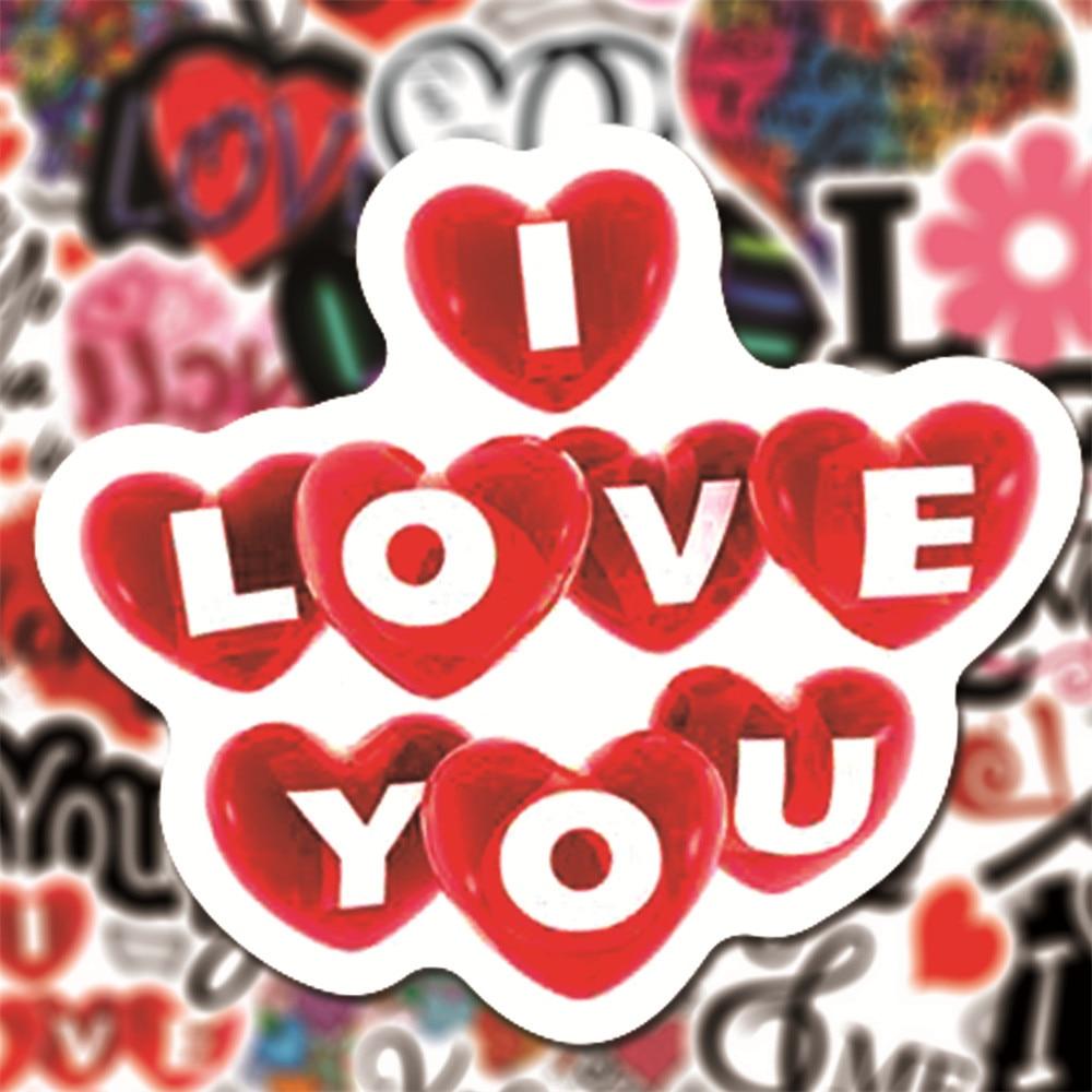 10-50pcs-ins-style-i-love-you-graffiti-scrapbook-adesivi-per-notebook-laptop-bike-helmet-car-impermeabile-love-heart-sticker