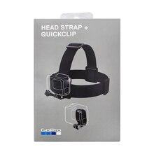 Gopro Head Strap + QuickClip ACHOM-001 (Official Mount) Original  Gopro Official Accessories