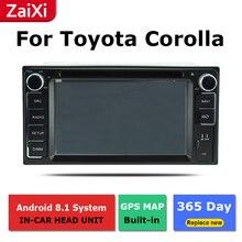 2 Din Android radio bluetooth navegación GPS wifi de vídeo estéreo para Toyota Corolla 2000 ~ 2017 reproductor Multimedia