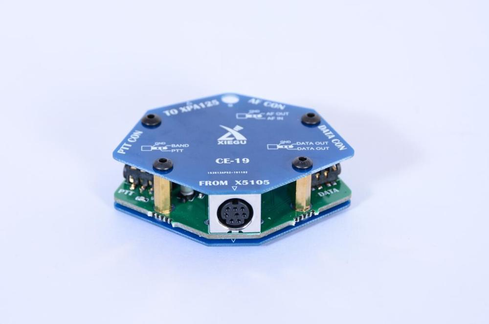 بطاقة توسيع واجهة البيانات Xiegu CE-19 CE19 الأصلي ل XIEGU X5105 G90 G90S ACC PTT XPA125