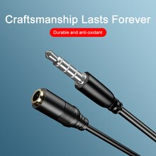 Male To Female Audio Cable Headphone 3.5mm Headphone Extension Cable 0.75m Auxiliary Cable Car Audio