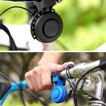 Rechargeable 120db Cycle cloche corne électronique sécurité trompette USB charge vélo sirène Audio avertissement alarme Scooter klaxon