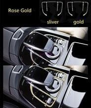 Auto Control Center Muis Touchpad Knop Frame Luxe Decoratie Cover Trim Voor Mercedes Benz Glc C E Klasse W205 W213 2015-19
