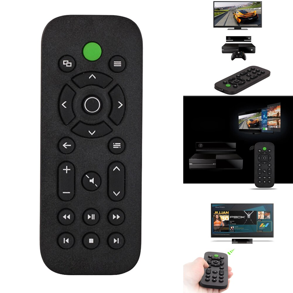 Remote Control 2.4G Wireless Media For Xbox Voice TV DVD Entertainment Multimedia Controle Microsoft XBOX ONE Game Console
