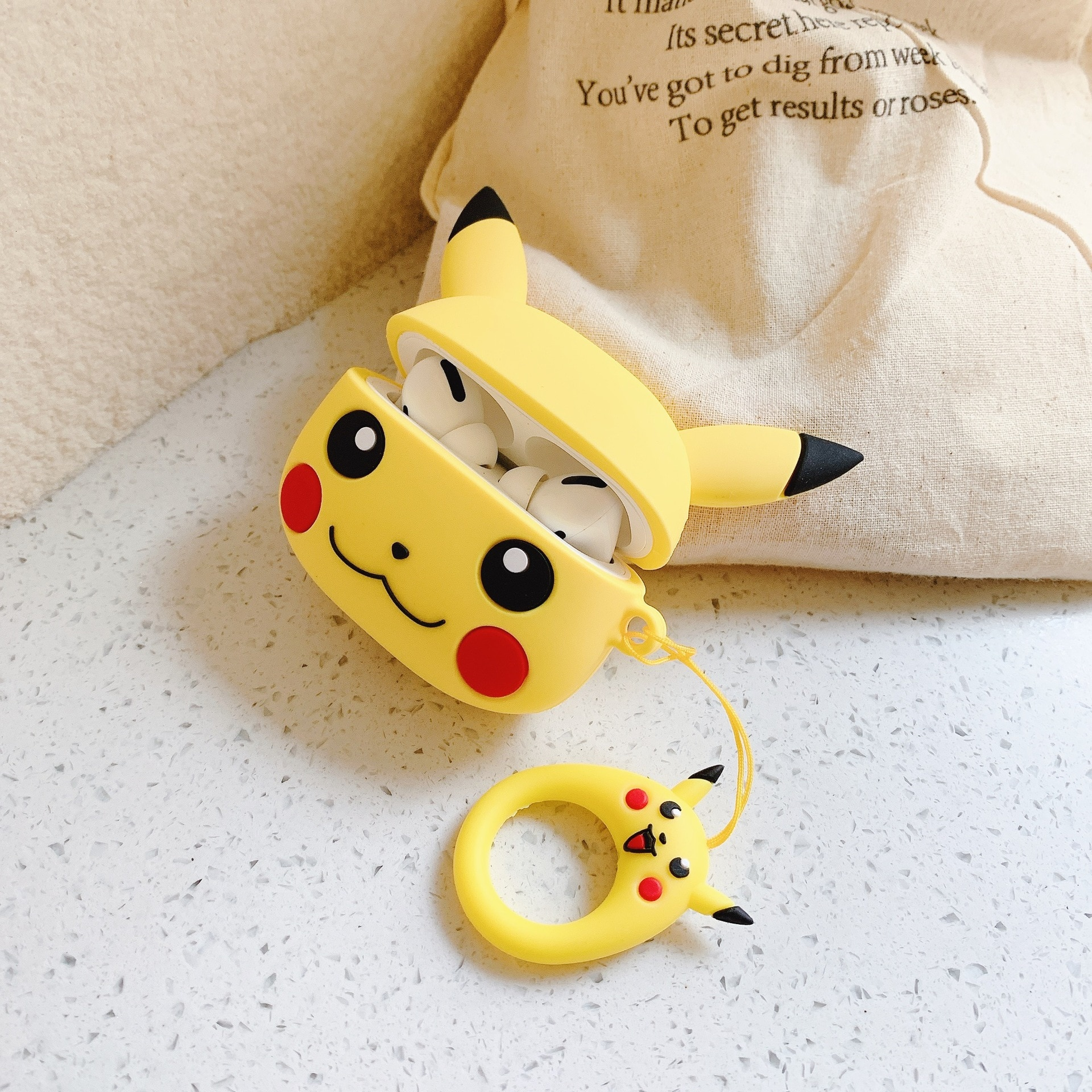 AliExpress - Pokemon AirPods Pro 3 Silicone Case Kawaii Pikachu Cartoon Anti-fall Bluetooth Headset Protective Case Box New Year Gift