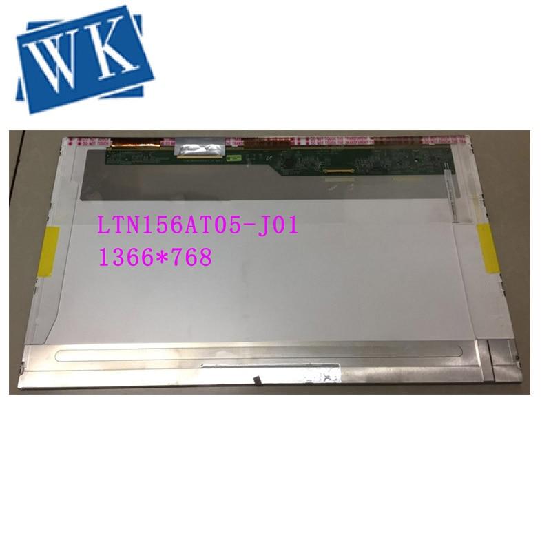 "Panel Monitor LTN156AT05-J01 LTN156AT05 LED Display LCD Screen Matrix for Laptop 15.6"" 1366X768 HD 40Pin Glossy Replacement"