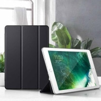 Кожаный чехол для iPad Air 2, чехол-книжка для iPad Air2 модель Apple A1566 A1567, умный чехол-подставка для планшета 9,7 дюйма с функцией автоматического сна