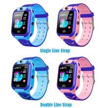 Новые водонепроницаемые детские Смарт часы Smart Watch SOS Antil lost Смарт часы с вызовом и определителем местоположения умный Браслет Q12 для детей
