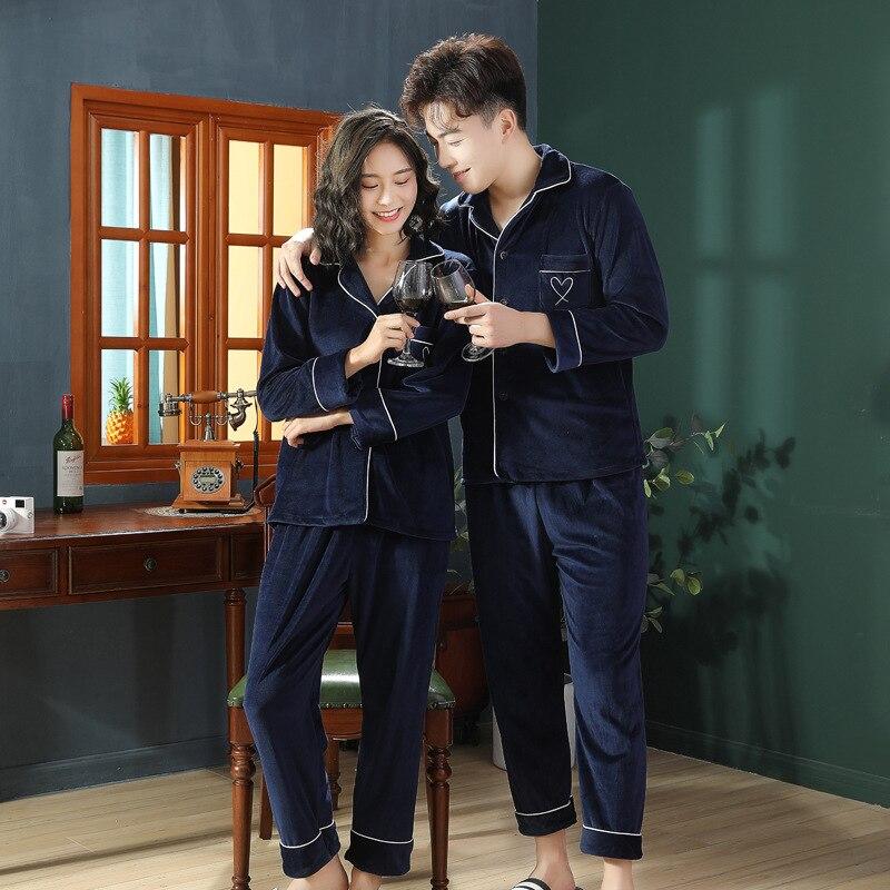 2 шт., зимняя Пижама с отложным воротником и брюки