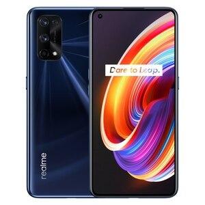 Image 5 - Оригинальный Realme X7 Pro 5G мобильных телефонов 120 Гц Частота обновления экрана 6,5 дюймов 4500 мАч батарея 65 Вт Быстрая зарядка 64MP NFC Смартфон
