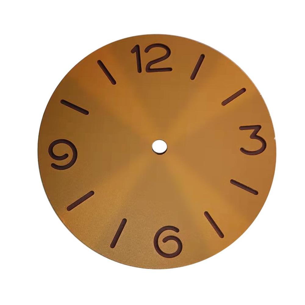 Esfera de reloj estéril de 39MM para la pieza de reparación del movimiento del reloj ETA 6497 6498