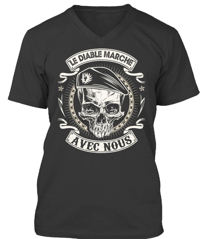 Camiseta de hombre LEGIÓN EXTRANJERA Marche camiseta de mujer