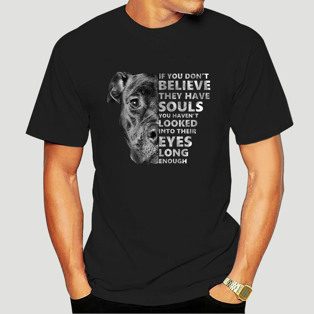Se você não acredita que eles têm almas você não olhou em seus olhos mulher T-Shirt-0034D