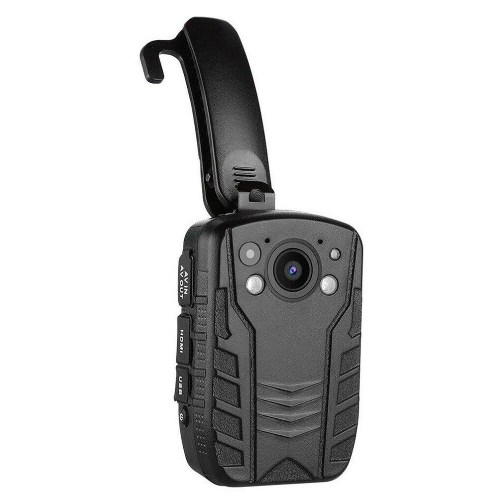 1296P Full HD resistente al Cuerpo de Policía de Seguridad de Gadget con 2 pulgadas pantalla noche visión GPS de detección de movimiento