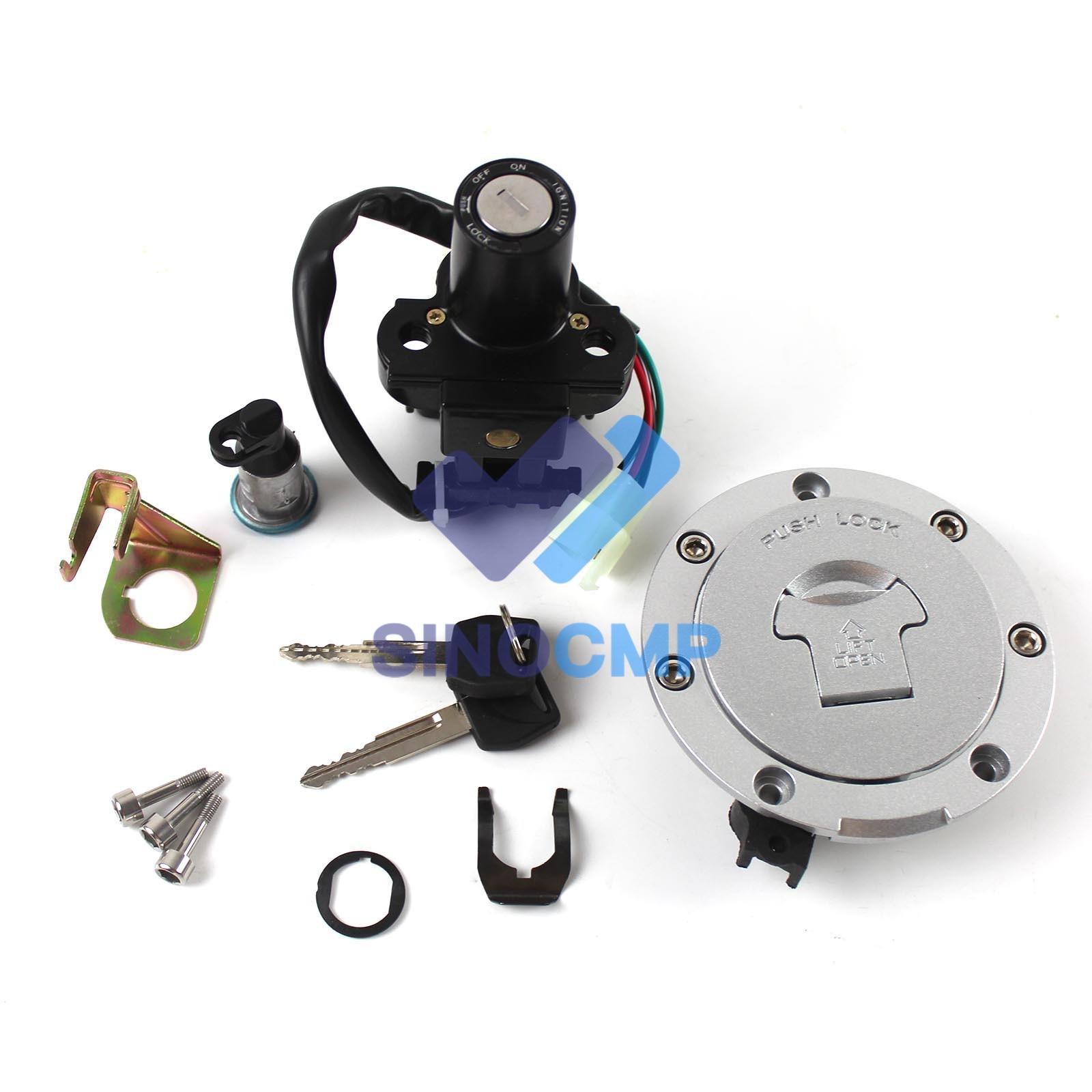 مفتاح إشعال الوقود الغاز كاب مفتاح القفل ل CBR 600 F4 1999-2000 VTR1000F 01-05 دراجة نارية