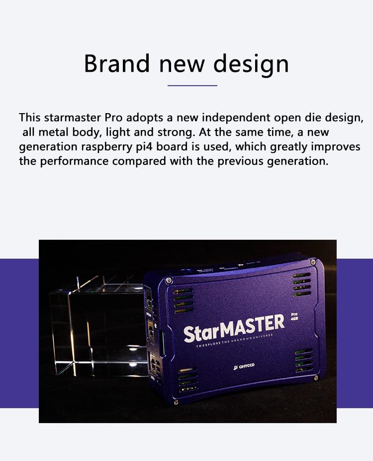 Qhyccd starmaster pro drahtlose caixa qhy blau
