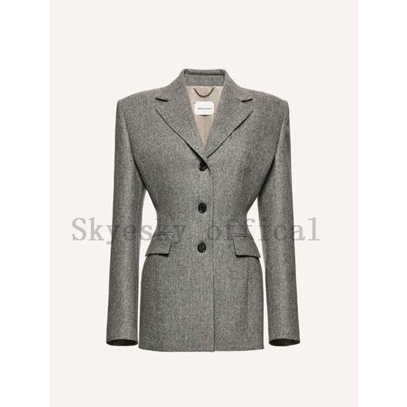 Индивидуальный Женский блейзер, офисные деловые куртки для девочек, официальный Топ, пальто, рабочая одежда, весна-осень