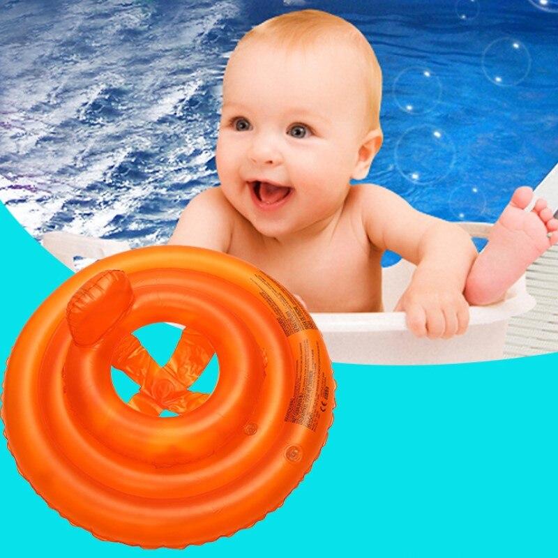 Детское плавательное кольцо, кольцо для сиденья подмышек, Двухслойное утолщенное плавающее кольцо для малышей (0-3 лет), водные развлекатель...