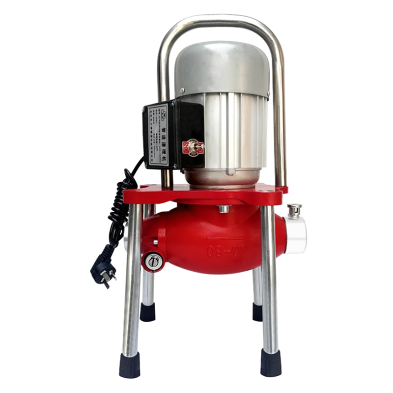 STJ-04 Electric Pipe Dredging Machine Sewer Dredger Toilet Floor Drain Dredging Cleaning Machine Home Tools High Power 1200w