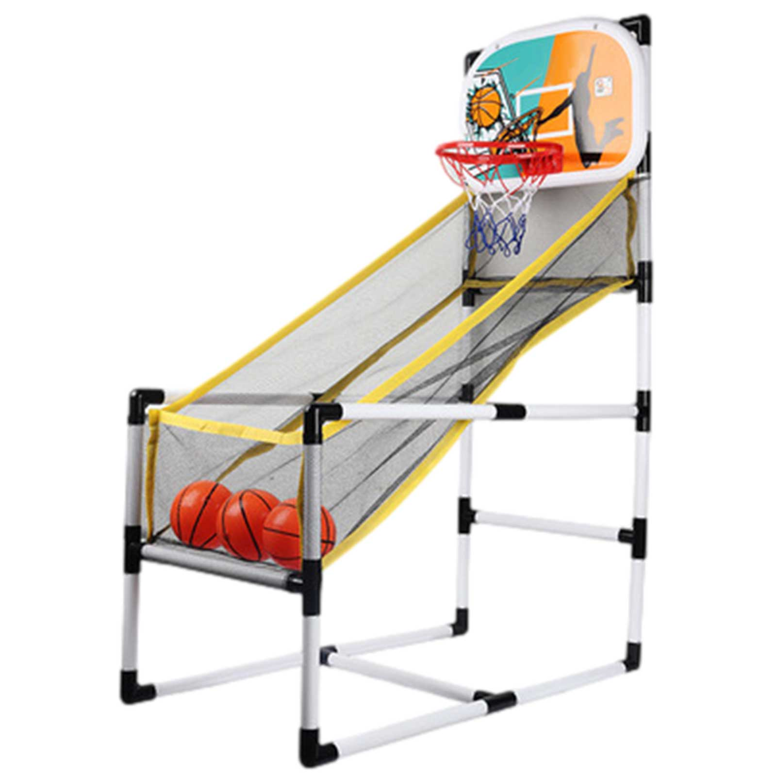 Basketball Shooting Machine Portable Basketball Hoop Arcade Game Brain-Training Toy For Children Kids Educational Toy Gift