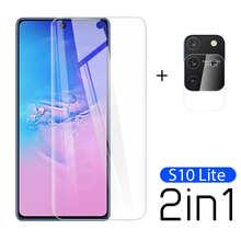 Закаленное стекло 2 в 1 для Samsung S10 Lite Samsung Galaxy Note 10 Lite, Защитная пленка для экрана камеры Samsung S20 FE light