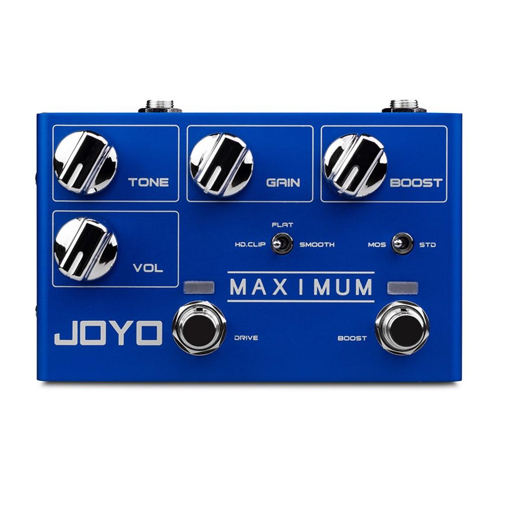 JOYO R-05 أقصى دواسة Overdrive الغيتار تأثير دواسة البرية Overdrive طويلة الحفاظ على تأثير تشويه دواسة صغيرة الغيتار باس أجزاء