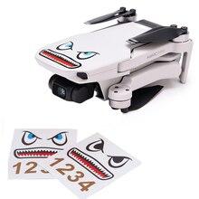 Mavic Mini Mavic Air Body Sticker Aircraft Shark Sticker Adhesive Decals Skin Mavic Pro Accessories For DJI Spark Mavic 2 Pro