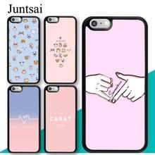 Juntsai Cartoon Seventeen KPOP Band Case For Apple iPhone 11 Pro Max XS MAX X XR 5S SE 2020 6S 8 7 Plus Cover Coque