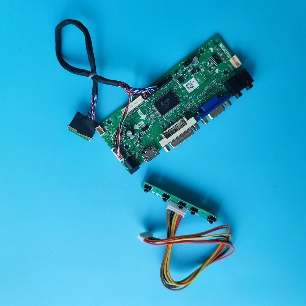 عدة ل LP156WD1-TLD2/TLB3/TLA2/TLD5/TLB4 VGA DVI LCD 1600X900 LVDS لوحة رصد M.N68676 15.6