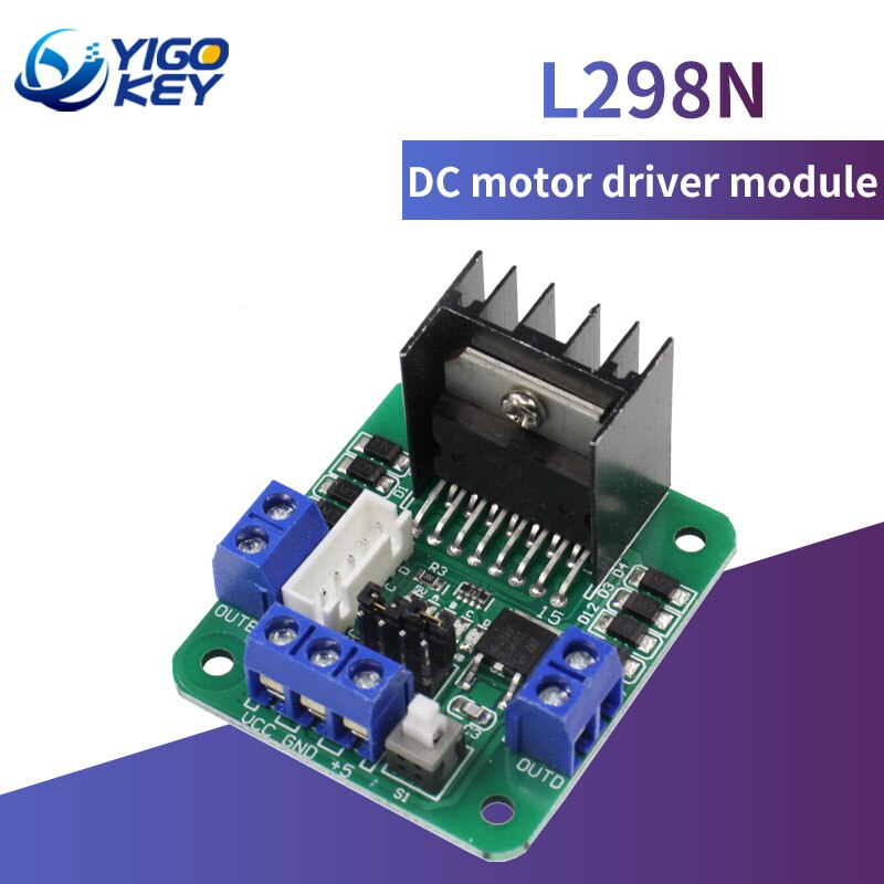Green Board L298N Motor Driver Board Stepper Motor Module For Robot Smart Car For Arduino