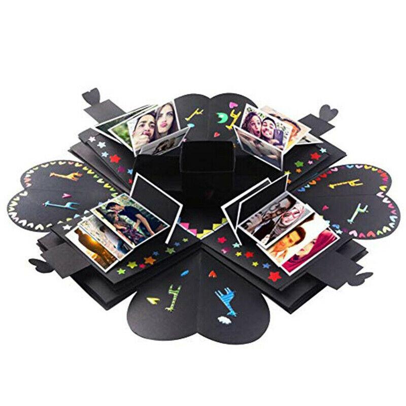 Explosion Box Scrapbook DIY Photo Album Anniversary Creative Exploding Gift Box