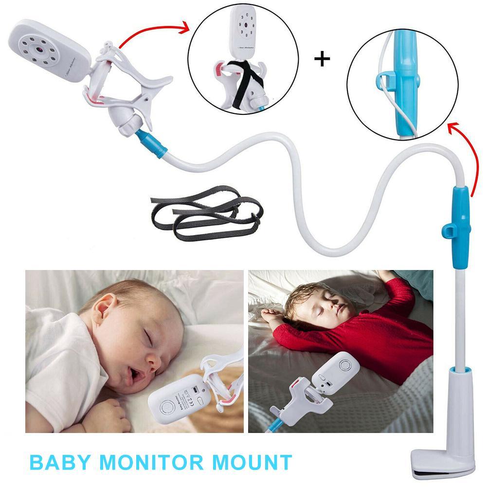 Soporte Universal Para cámara de bebé, estantería Flexible Para Monitor de vídeo...