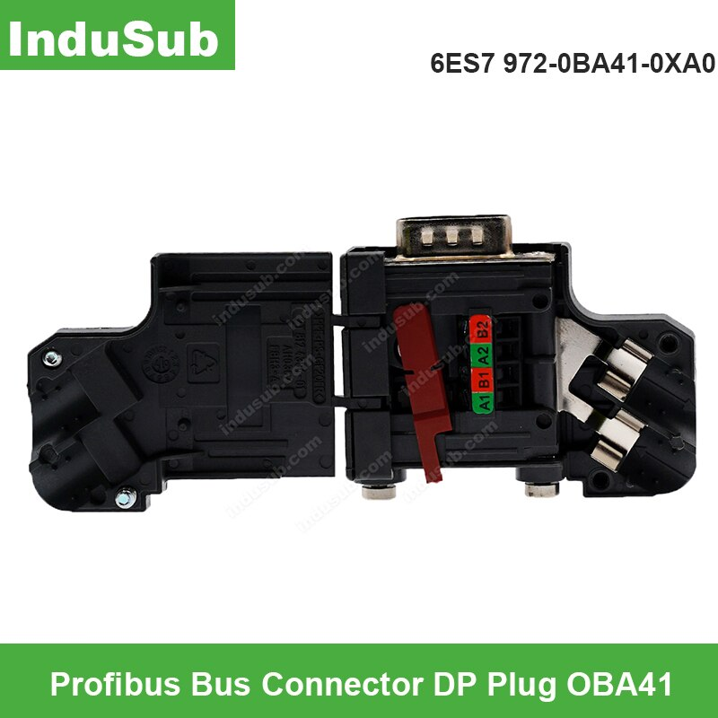 6ES7 972-0BA41-0XA0 Profibus Bus Connector DP Plug OBA41 connector Adapter Electronic Data Systems Replacement 100%