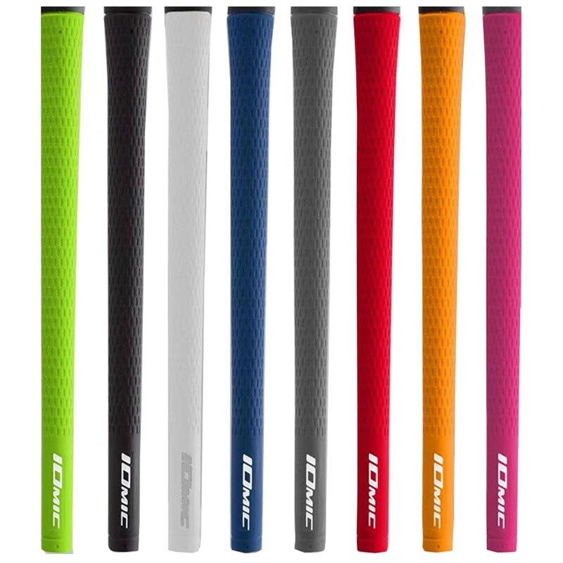 Nuevos agarres de hierros de Golf Unisex, agarres de Golf IOMIC de alta calidad, 11 unids/lote, palos de Golf de madera, empuñaduras de conductor, envío gratis