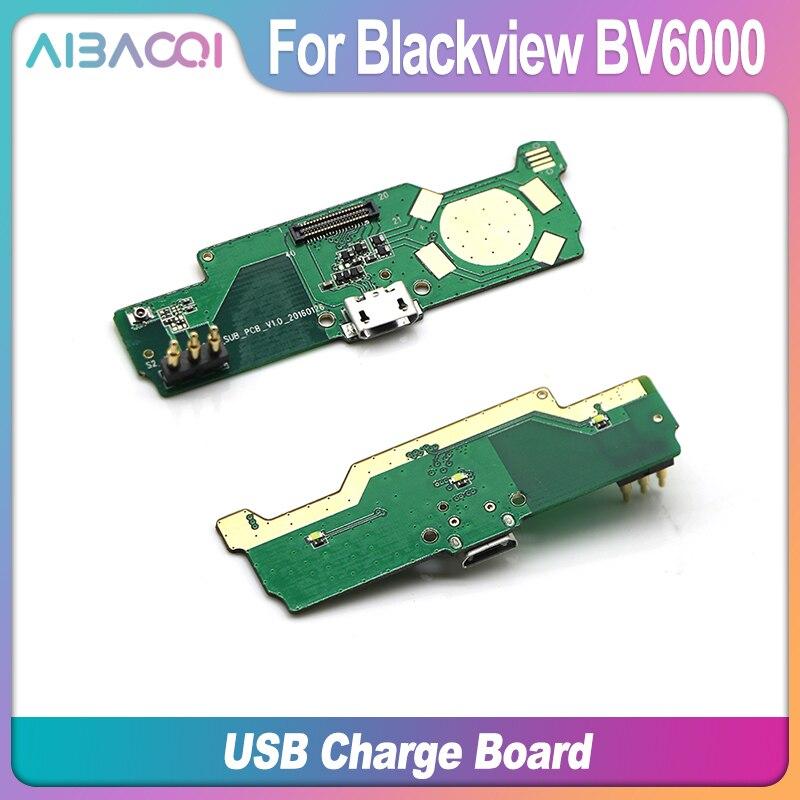 AiBaoQi, nueva placa USB Original para Blackview BV6000/BV6000S, accesorios de pieza de teléfono móvil